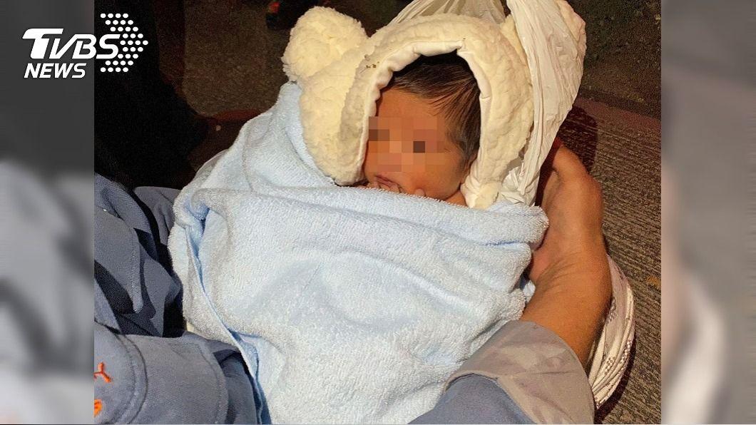 (圖/中央社) 男嬰被丟棄新園鄉安置滿月 屏縣府籲家屬儘快出面