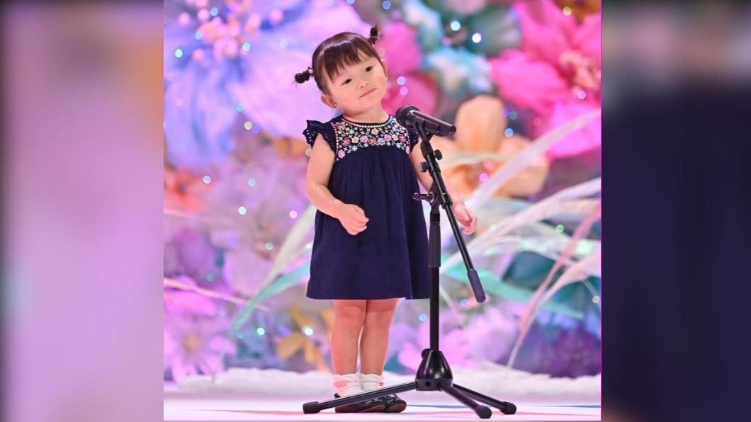 圖/翻攝自nonochannel555 Instagram 日兩歲歌姬將出道 年紀太小不知CD是啥