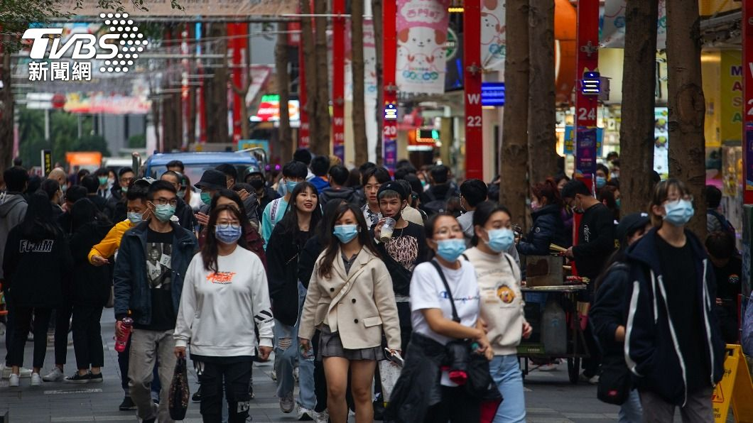 (圖/中央社) 國內經濟增溫 1月景氣燈號續亮黃紅燈