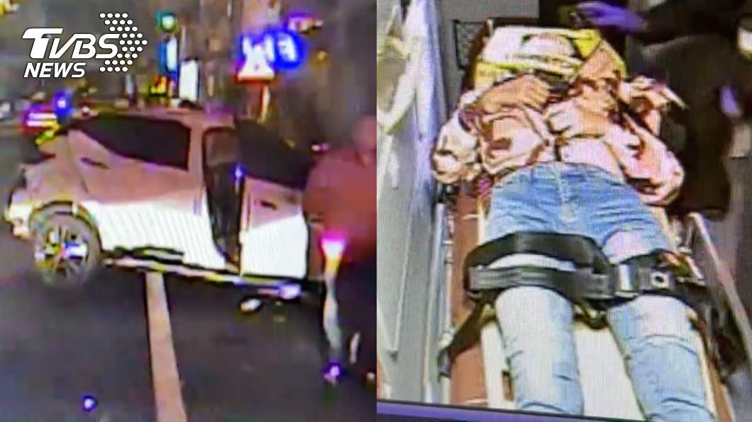檳榔西施酒駕打瞌睡 暴衝撞噴騎士害重摔慘死