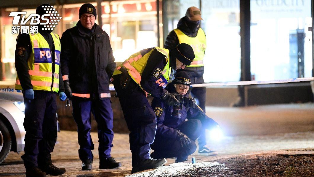 圖/達志影像路透社 瑞典南部傳持刀攻擊案多人受傷 疑為恐怖主義犯罪