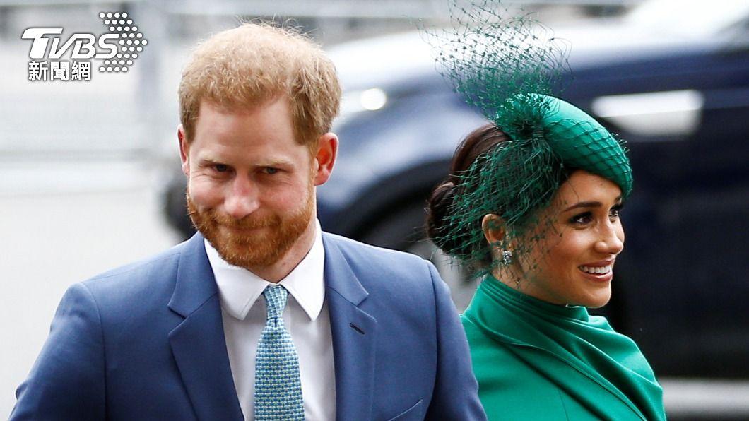 哈利王子與妻子梅根。(圖/達志影像路透社) 王室工作人員控被霸凌 梅根:對此報導感到傷心