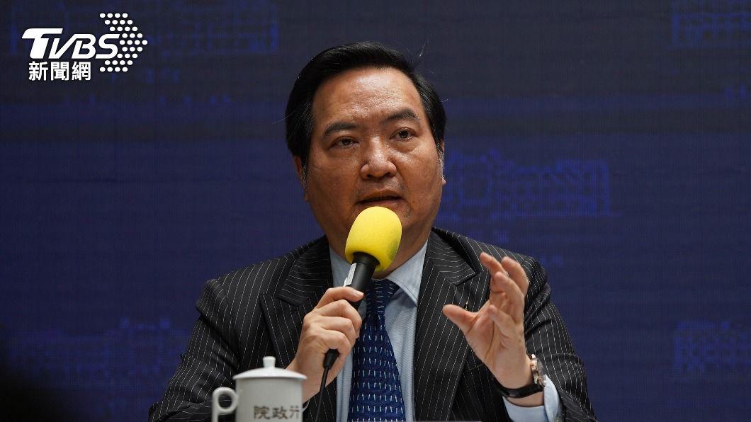 行政院發言人羅秉成。(圖/中央社) 政院:馬政府開啟與中國緊密農業交流是不爭事實