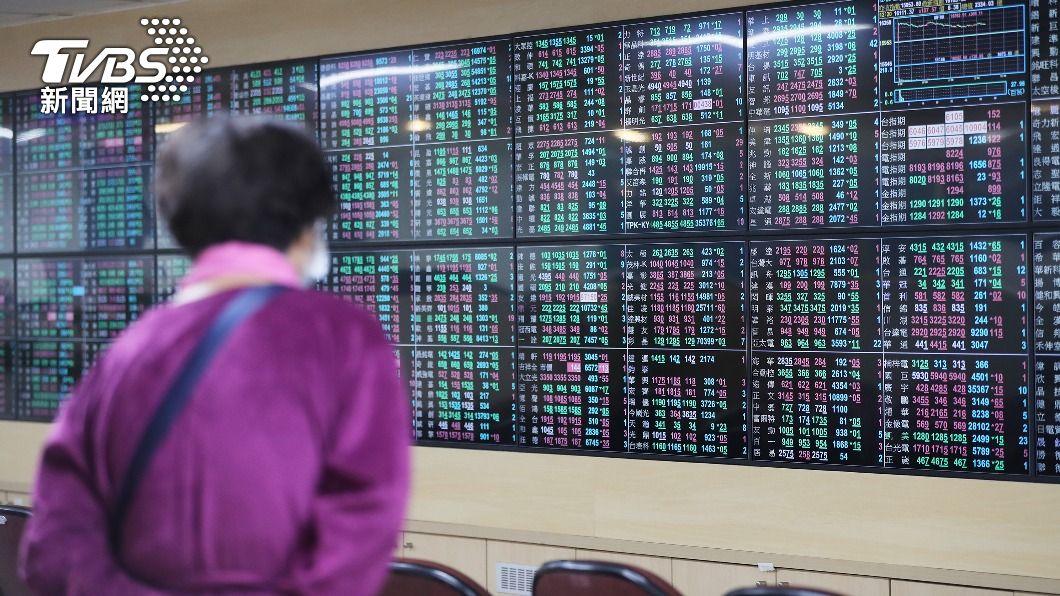 (圖/中央社) 台股大跌逾300點 失守16000關卡及月線