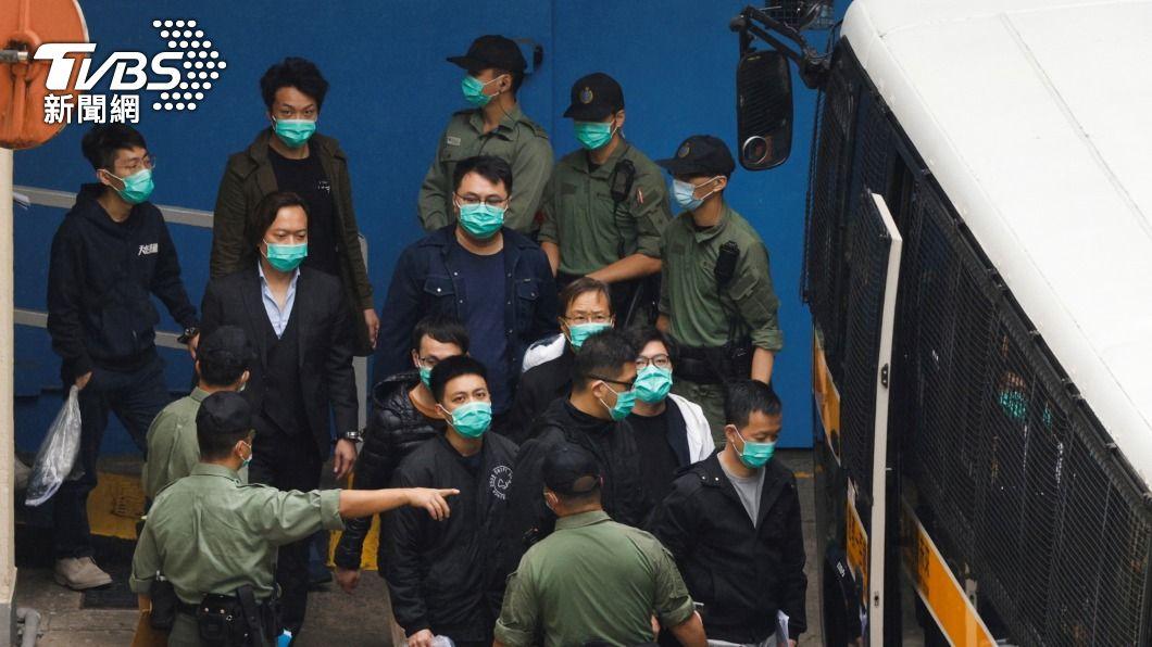(圖/達志影像路透社) 港泛民47人違國安法案 預料今公布保釋結果
