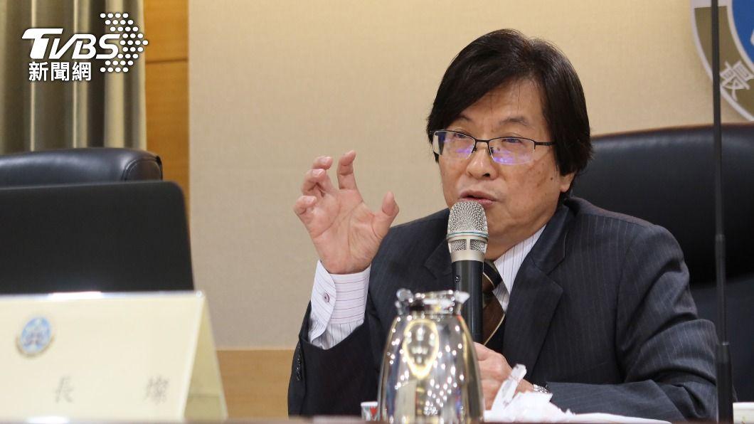 最高法院院長吳燦。(圖/中央社) 法官捲入富商翁茂鍾案 最高法院院長吳燦致歉
