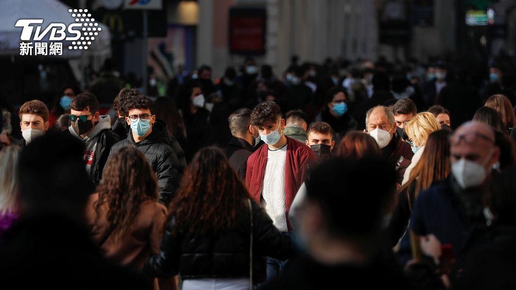 歐洲新冠肺炎新增確診人數再度上升。(圖/達志影像路透社) 世衛:連6週減少後 歐洲新增確診數再度上升