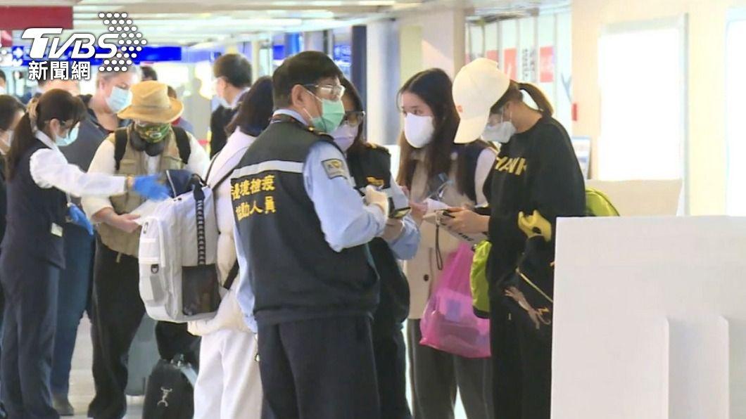(圖/TVBS) 邊境防疫措施鬆綁 王美花:一直有經濟泡泡申請案