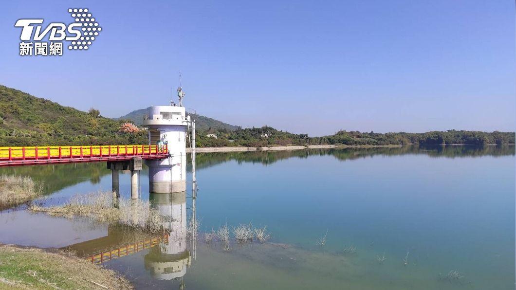 圖為阿公店水庫。(圖/中央社) 暫緩支援台南用水 高市府:高雄水情穩定