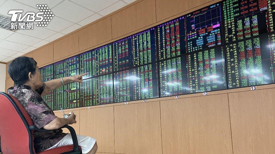 (圖/中央社) 台積電站回600元收歛跌幅 台股週線收黑