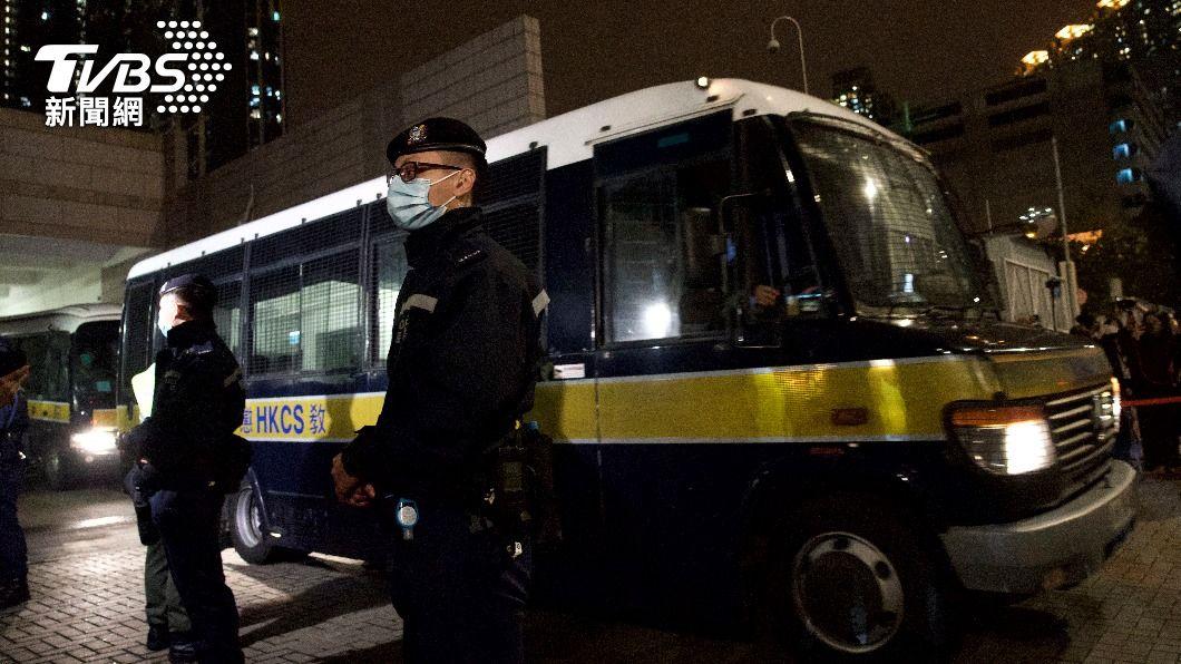 (圖/達志影像美聯社) 港泛民派47人被控違反國安法 4人終獲保釋