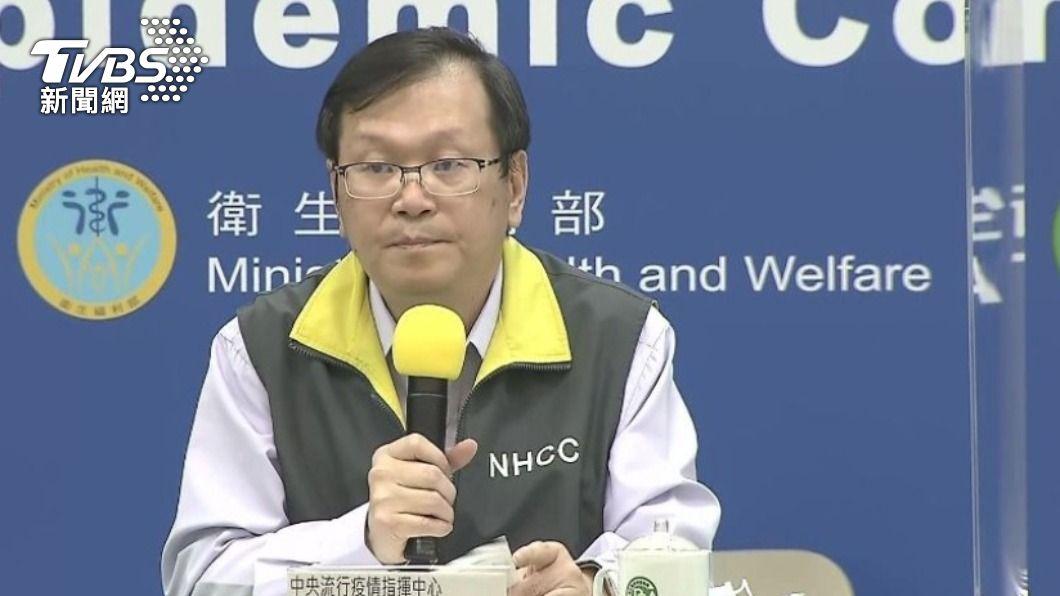 莊人祥表示陪探病實名制將採電子化登錄。(圖/TVBS ) 提高疫調效率 醫院「陪探病實名制」電子化下週上路
