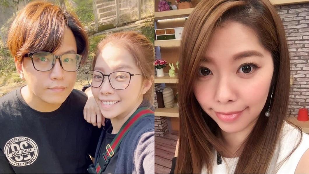 Mei和阿弟結婚邁向15年。(圖/翻攝自Mei邱馨葦臉書) 曝冷戰1週「尪離家出走」 Mei心寒:你贏了我卻受傷