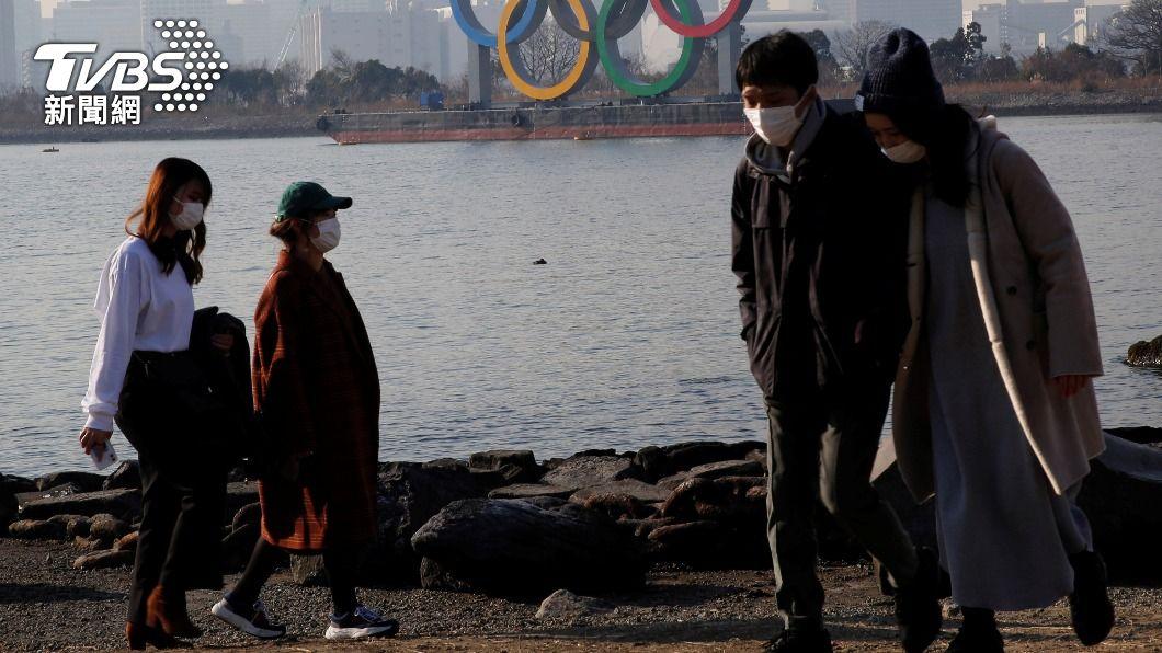 日本首都圈新冠肺炎疫情仍未歇。(圖/達志影像路透社) 日本疫情仍未消停 首都圈緊急事態延長至21日