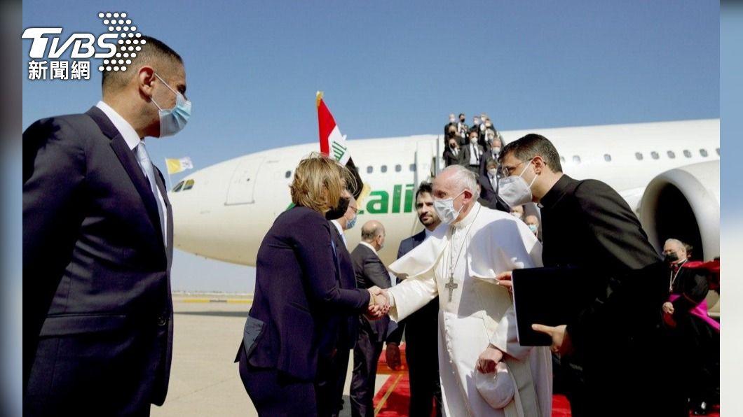 教宗抵伊拉克傳揚包容共存 支持曾受迫害基督徒