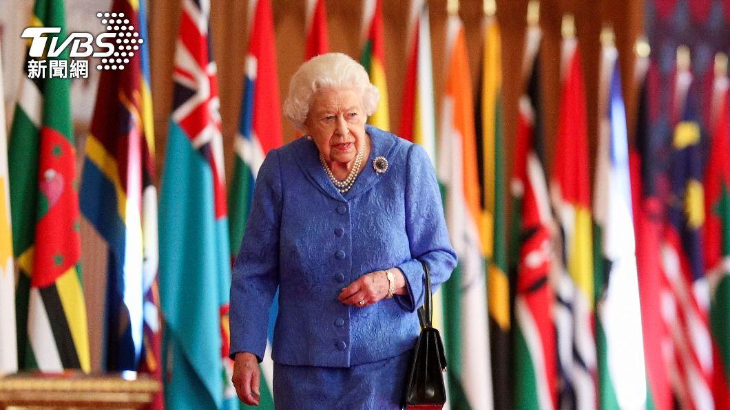 英女王伊麗莎白二世。(圖/達志影像美聯社) 哈利、梅根專訪將播出 英女王發表演說強調團結