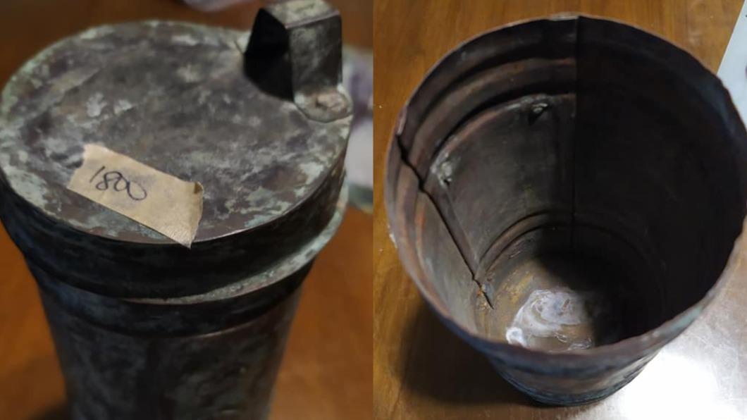 一名人妻日前買了生鏽的鐵罐竟要價1800元,讓丈夫超傻眼。(圖/翻攝自爆怨公社) 妻花1800買「神秘生鏽鐵罐」 尪看傻:價值在哪?