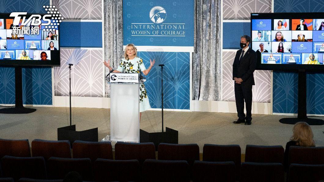 美國國務院頒發年度「國際婦女勇氣獎」,共有來自大陸、緬甸、白俄羅斯及伊朗等14國女性獲獎。(圖/中央社) 14人獲美國際婦女勇氣獎 陸維權律師王宇疑失聯