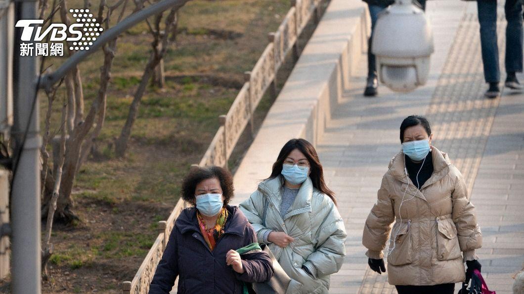 (圖/達志影像美聯社) 大陸8日新增8例新冠肺炎確診 皆境外移入