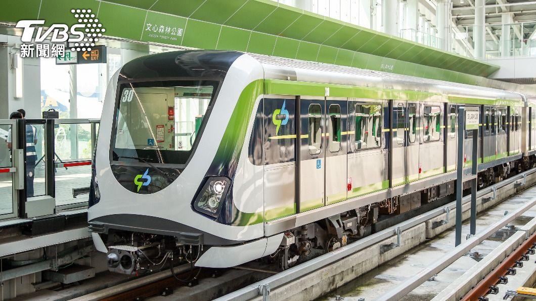 中捷綠線。(圖/中央社) 中捷綠線恢復試營運在即 盧秀燕10日記者會公布