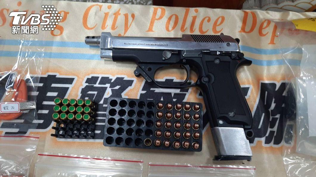 (示意圖/中央社) 高雄警:取得檢方共識 查到具殺傷力槍枝就聲押