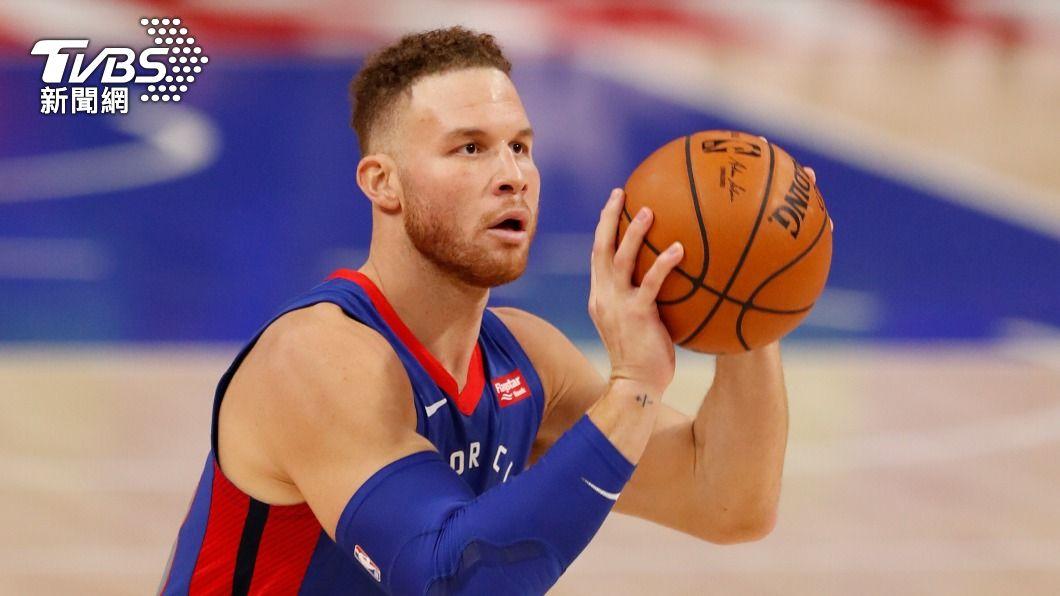 葛里芬正式加盟籃網。(圖/達志影像路透社) 葛里芬正式加盟NBA籃網 哈登:他渴望贏球
