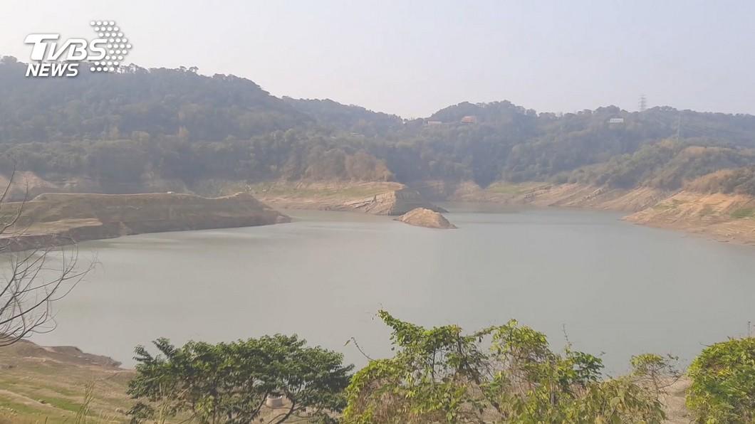 鯉魚潭水庫擺脫乾旱,蓄水量已破5000萬噸。(圖/TVBS資料畫面) 梅雨神救援! 鯉魚潭水庫蓄水量破5000萬噸