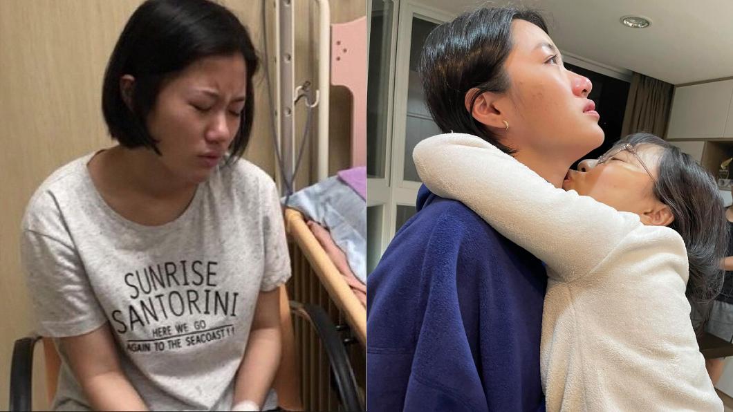楊月娥接連面對2個女兒身體出狀況。(圖/翻攝自楊月娥臉書)