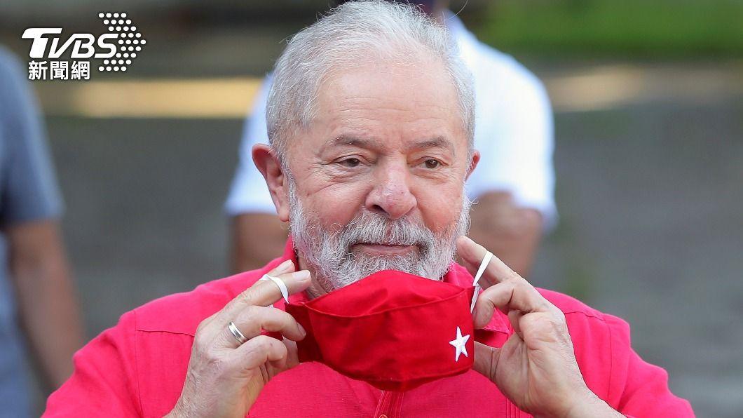 巴西提前展開2022年總統選戰。(圖/達志影像路透社) 魯拉有罪判決無效 2022年巴西總統選戰提前展開