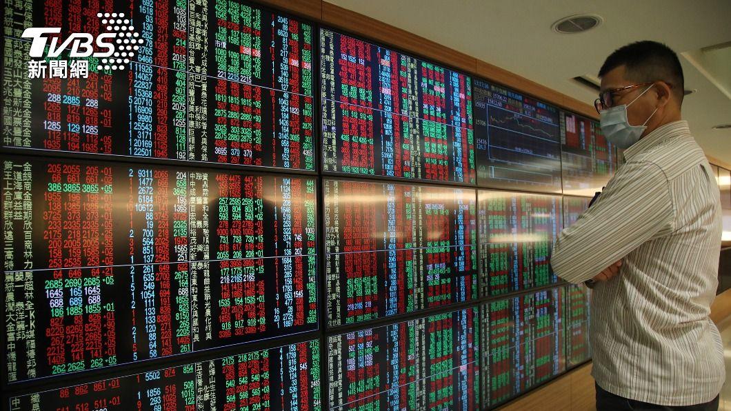 (圖/中央社) 台積電股價漲6元 台股早盤漲127.48點