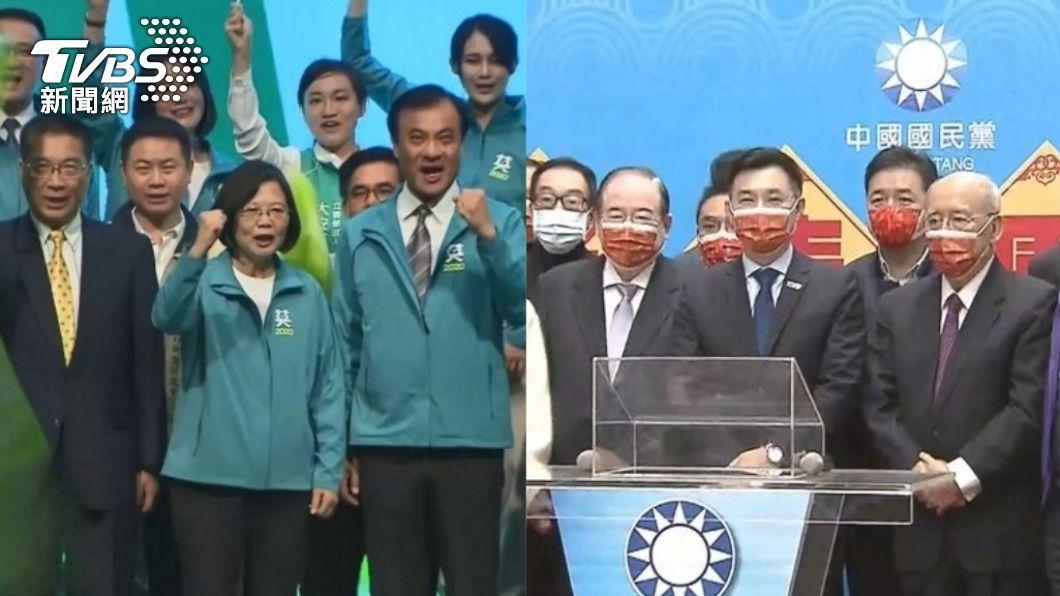 藍綠兩黨積極布局選舉。(圖/TVBS資料畫面) 政壇頻爆風波陰謀論 他斷言「6大事」:準到可怕