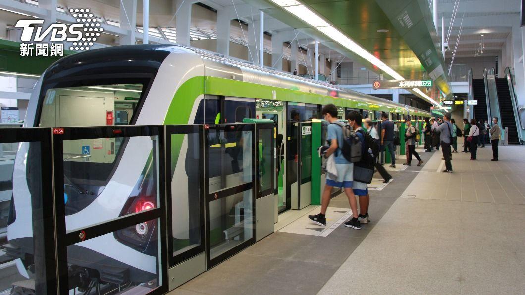 台中捷運綠線25日起試營運。(圖/中央社) 歷經3個多月修復 中捷綠線列車重新上路