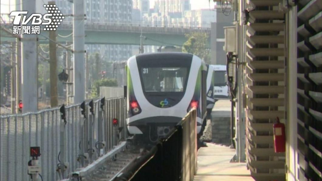 盧秀燕宣布,4月底將舉行通車典禮。(圖/TVBS) 中捷3/25正式試營運 憑「電子票證」免費搭乘