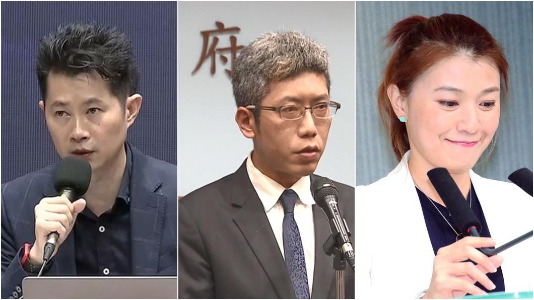 民進黨發言人頻出包。(圖/TVBS資料畫面、翻攝自顏若芳臉書) 綠營府院黨3發言人輪流出包 「受傷最深」恐是顏若芳