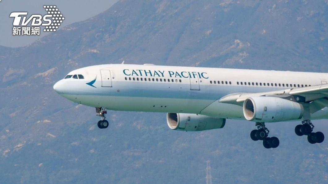 國泰航空。(示意圖/shutterstock 達志影像) 香港、新加坡共組旅遊氣泡 國泰航空5月底重啟航班