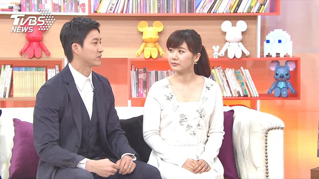 圖/TVBS資料畫面 福原愛談高帥男「進房搬行李」 江宏傑仍錄影