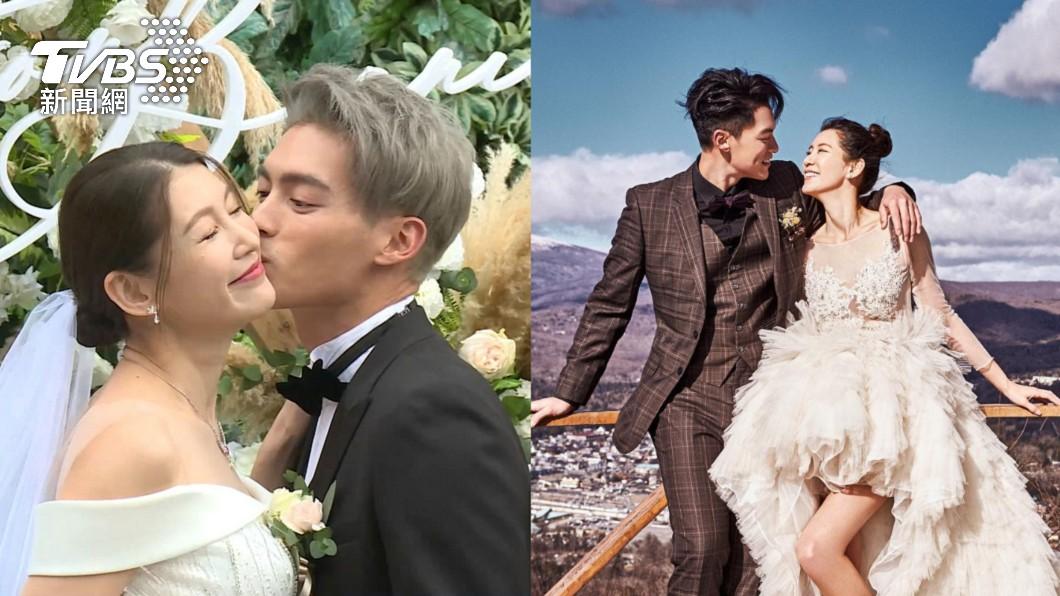 許孟哲、趙孟姿2019年結為夫妻。(圖/TVBS、翻攝自許孟哲 HMC Facebook) 6月嫩嬰滾下床暴哭 名模妻控許孟哲「已讀不回」
