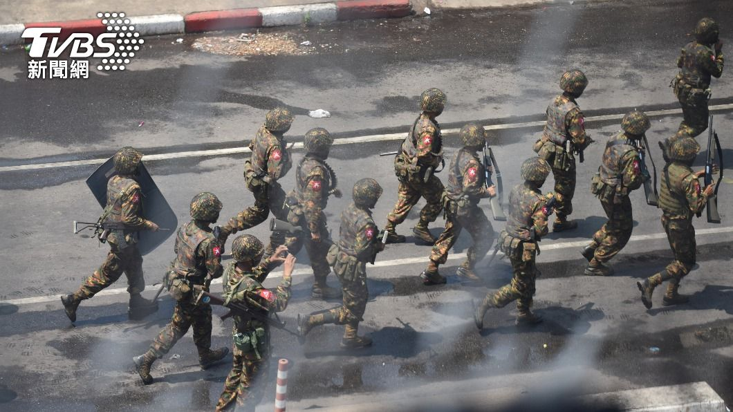 (圖/達志影像路透社) 美制裁緬軍領袖子女 安理會同意譴責軍方施暴