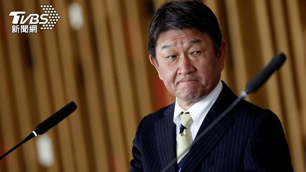 日本外務大臣茂木敏充。(圖/達志影像路透社) 311大地震10週年 日外相:全力解決農產貿易限制
