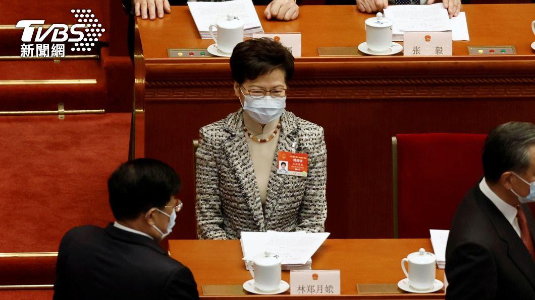 香港行政長官林鄭月娥。(圖/達志影像路透社) 陸人大通過修改香港選制決定 港特首聲明支持