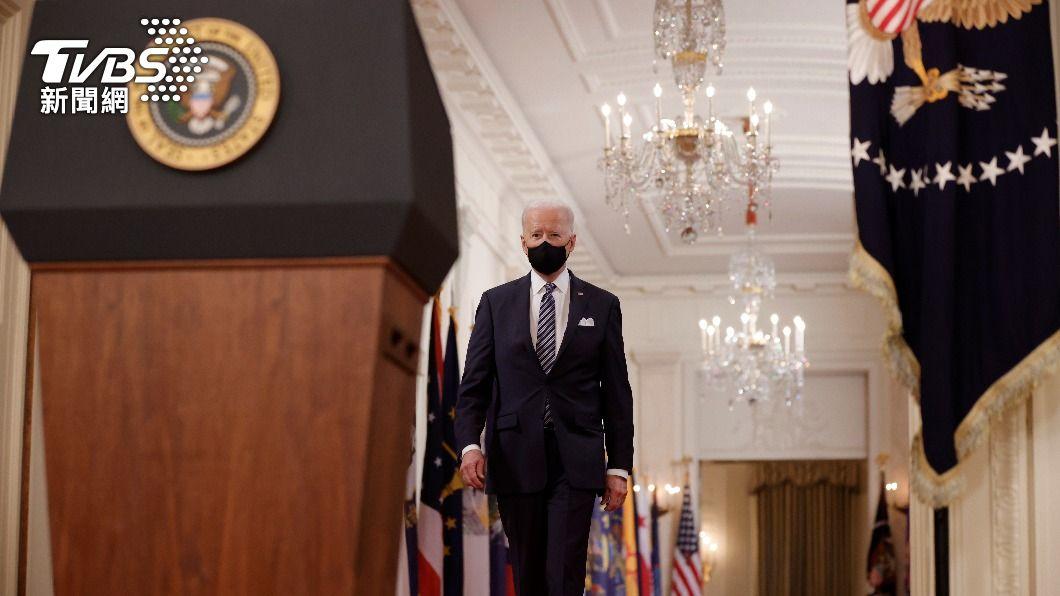 美國總統拜登對因疫情而針對亞裔美國人行為進行譴責。(圖/達志影像路透社) 痛批仇恨亞裔犯罪 拜登:這不是美國作風