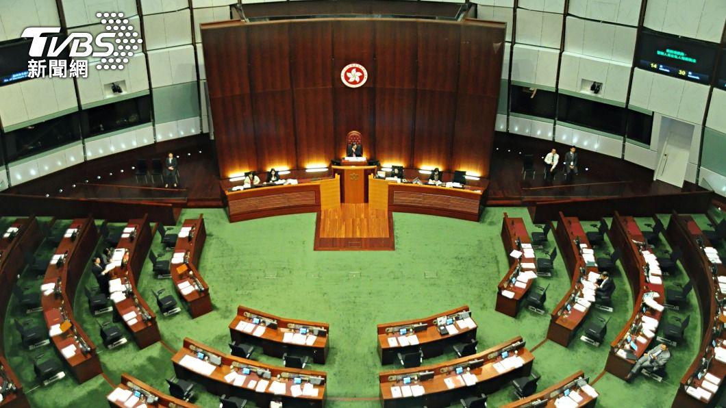 (圖/中央社) 港下屆立會選舉 人大:依修改後基本法附件舉行