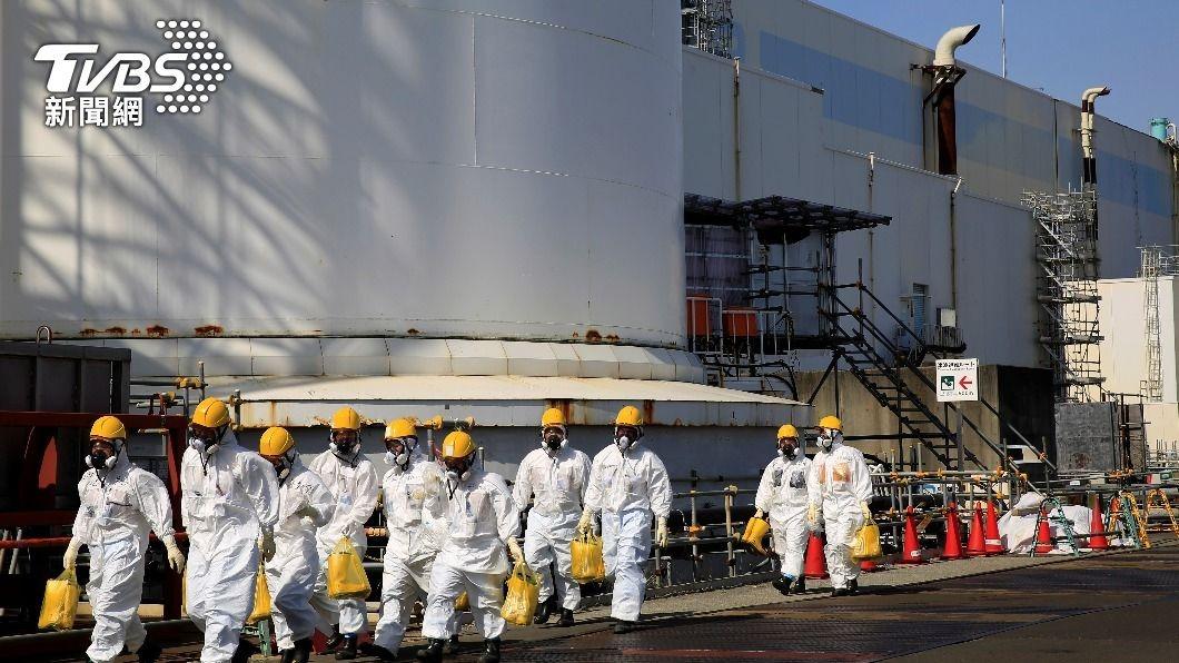 圖/TVBS 福島核電廠氫爆 官方:排壓反釀氫氣逆流