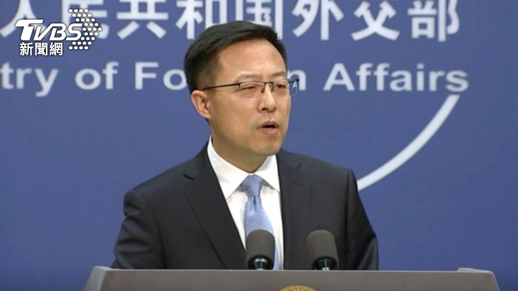陸外交部發言人趙立堅。(圖/達志影像美聯社) 美中高層會晤 北京:具體議題待定盼坦誠對話