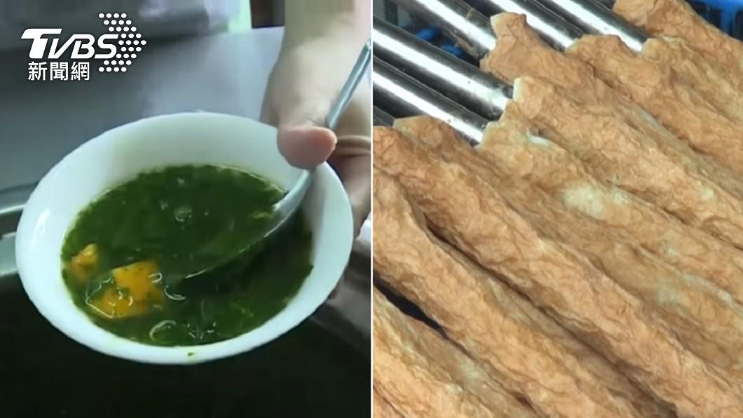 台中特有的蔴薏湯、基隆美食吉古拉。(圖/TVBS) 哪些小吃是地區限定? 老饕推1味:其他地方不好吃