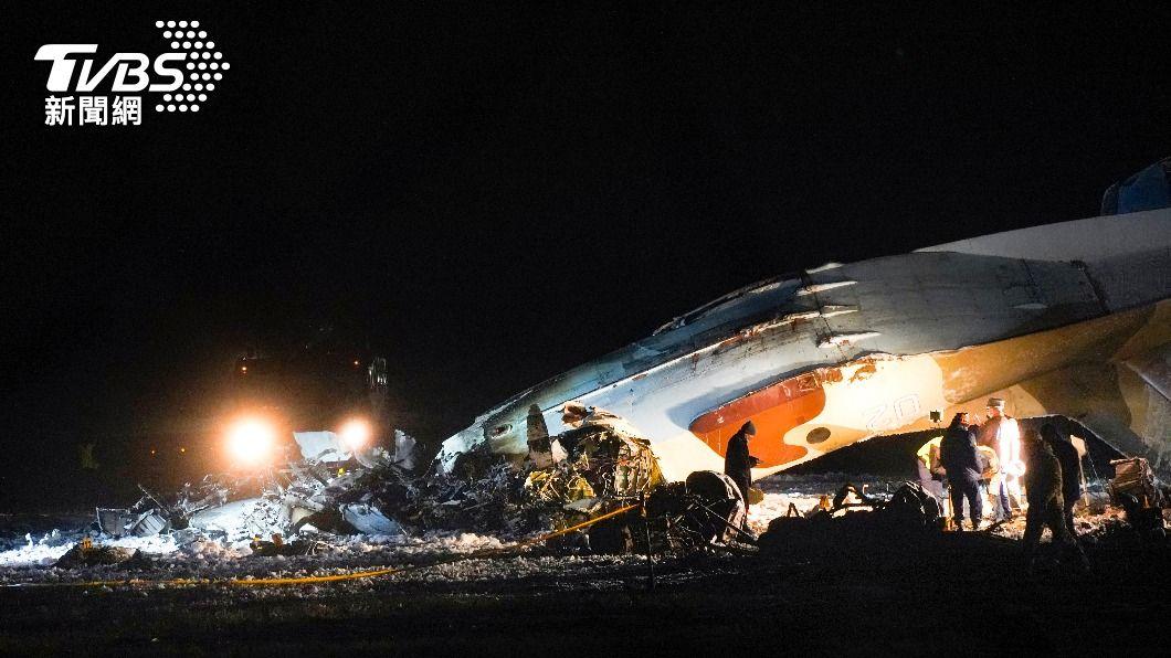 哈薩克軍機失事墜毀  機身著火4人喪命