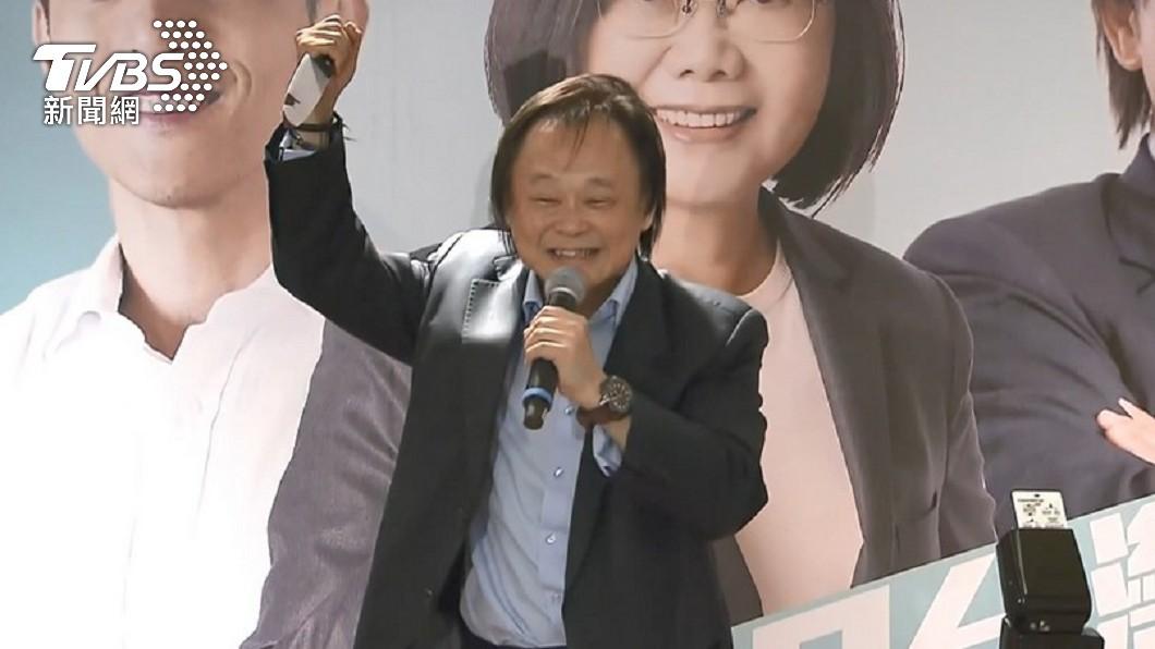 王世堅被蔡啟芳力拱選2022台北市長。(圖/TVBS資料畫面) 蔡啟芳「唯一支持」出戰北市 王世堅樂歪:慧眼獨具
