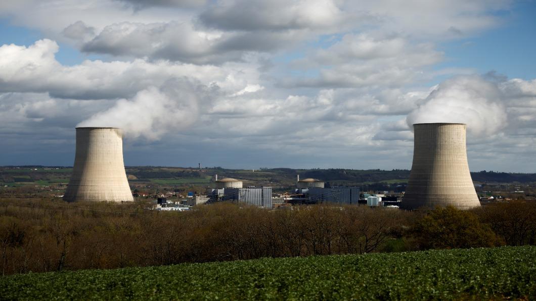 圖/達志影像路透 核能大國轉型!法國2035核電占比 降至50%