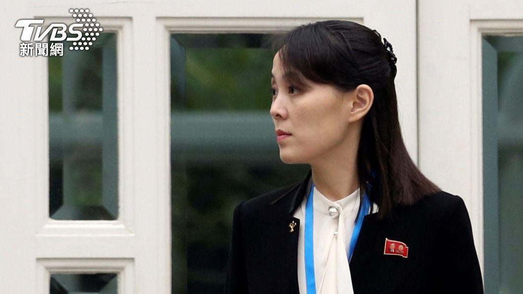 北韓領導人金正恩的胞妹金與正。(圖/達志影像路透社) 警告拜登政府!金與正批韓美軍演 揚言撕毀軍事協議