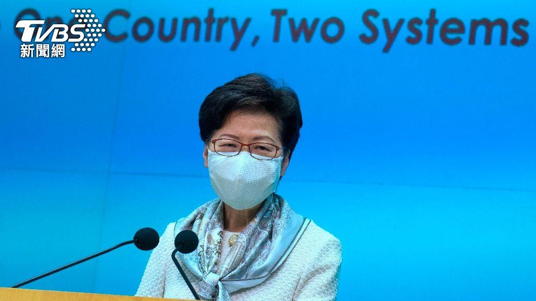 香港特首林鄭月娥。(圖/達志影像美聯社) 打科興疫苗後7死!林鄭強調安全性 促港人接種疫苗